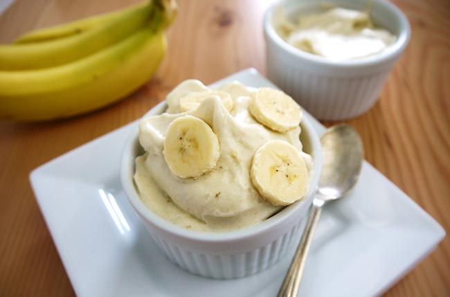 Бананновое мороженое
