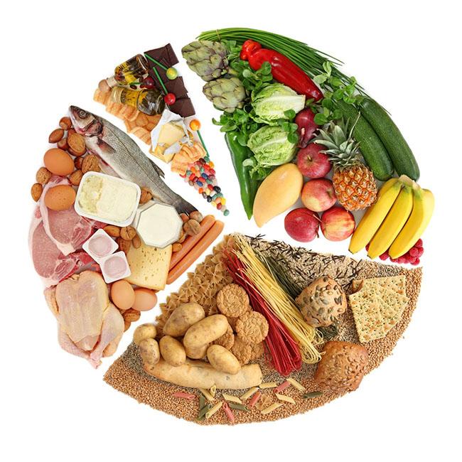 Сбалансированная диета при акне