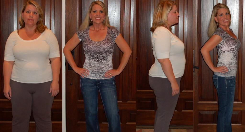 До и после английской диеты