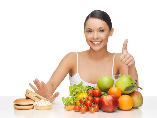 Полезная диета при акне